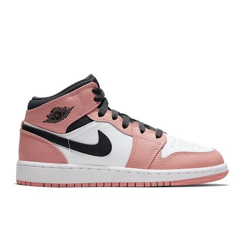 Nike Air Jordan 1 Mid Pink Quartz GS