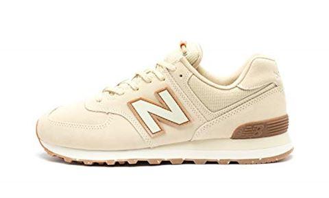 New Balance 574 Premium Outdoors Shoes - Bone/Turtle Dove