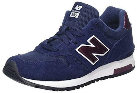 New Balance 565 Shoes - Navy/Merlot/White