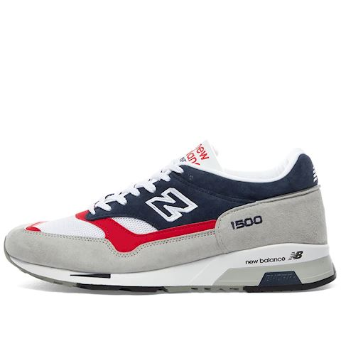 New Balance Made in UK 1500 Shoes - Grey/Blue/Red
