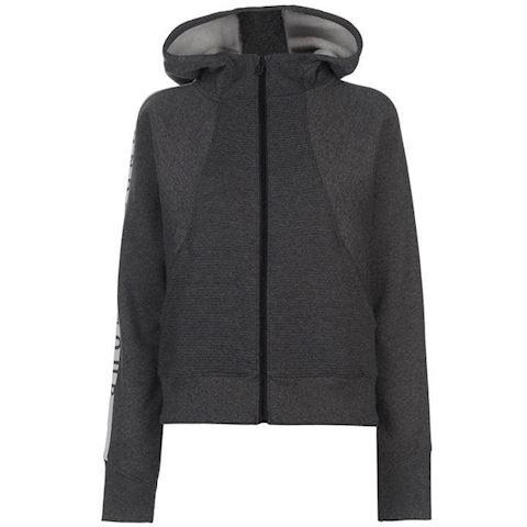 Black Under Armour UA Women/'s Cotton Ridge Fleece Full Zip Hoodie New