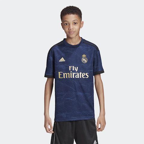 adidas Real Madrid Kinder Auswärts Short 201920 dunkelblau