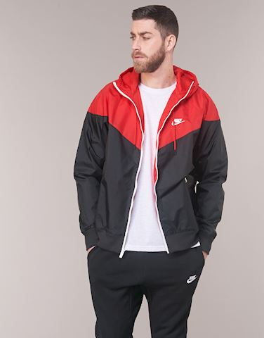 Accidental máximo productos quimicos  Nike Windrunner Jacket Black, Red & Sail   AR2191-011   FOOTY.COM