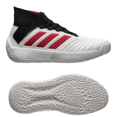 adidas Predator 19+ Trainer Paul Pogba Season 5 Footwear WhiteRedCore Black LIMITED EDITION