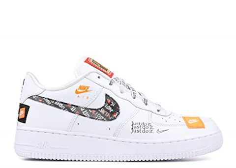 Nike Air Force 1 Just Do It Premium Older Kids' Shoe White