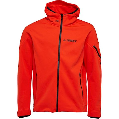 adidas Mens TERREX Climaheat Ultimate Fleece Jacket Energy